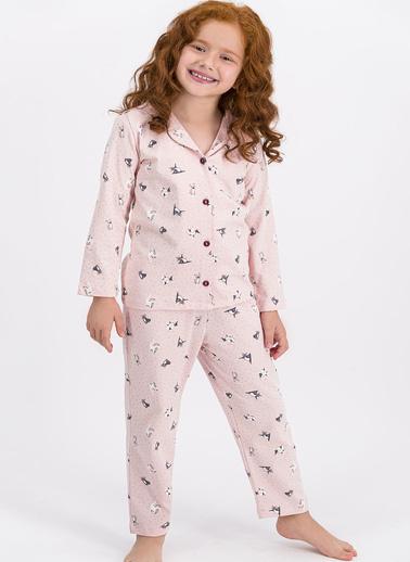 Roly Poly Pijama Takım Somon